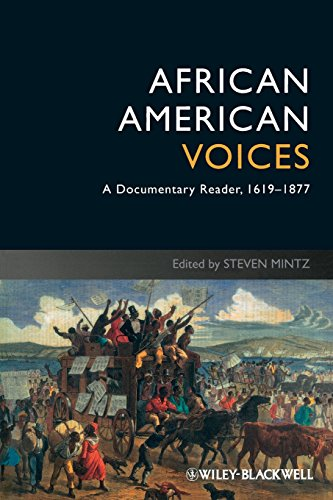 9781405182676: African American Voices: A Documentary Reader, 1619-1877