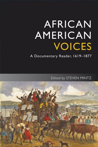 9781405182683: African American Voices: A Documentary Reader, 1619-1877 (Uncovering the Past: Documentary Readers in American History)