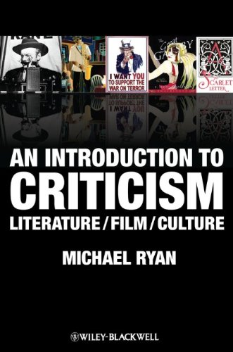 9781405182836: An Introduction to Criticism: Literature - Film - Culture