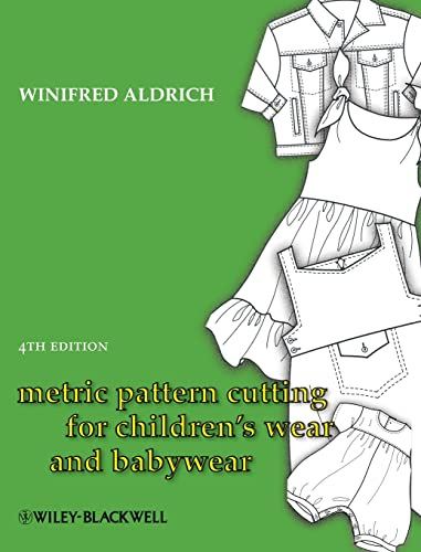9781405182928: Metric Pattern Cutting for Children's Wear and Babywear: From Birth to 14 Years