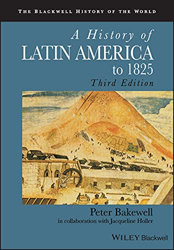 9781405183680: A History of Latin America to 1825