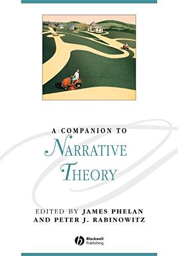 9781405184380: A Companion to Narrative Theory