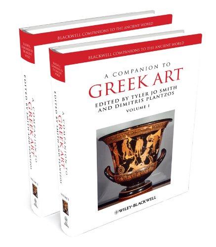 A Companion to Greek Art (Hardback)