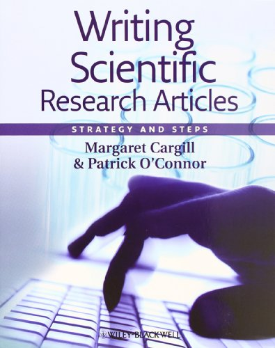 9781405186193: Writing Scientific Research Articles: Strategy and Steps