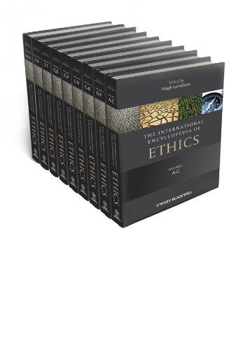 9781405186414: The International Encyclopedia of Ethics, 9 Volume Set