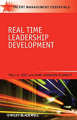 9781405186674: Real Time Leadership Development