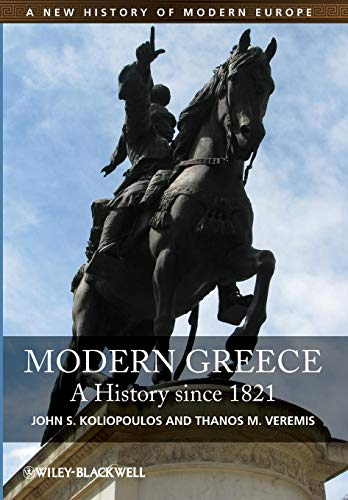 9781405186810: Modern Greece: A History since 1821