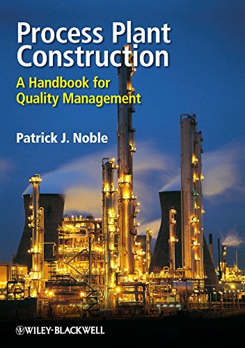 9781405187251: Process Plant Construction: A Handbook for Quality Management