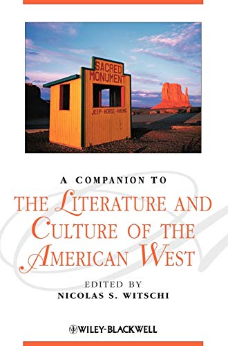 9781405187336: A Companion to the Literature and Culture of the American West