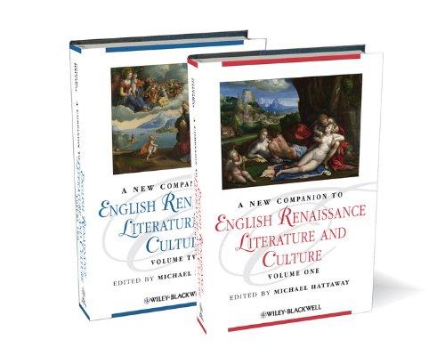A New Companion to English Renaissance Literature and Culture: Michael Hattaway