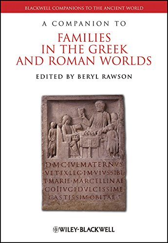 9781405187671: A Companion to Families in the Greek and Roman Worlds