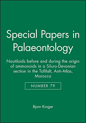 Special Papers in Palaeontology, Nautiloids before and during the origin of ammonoids in a ...