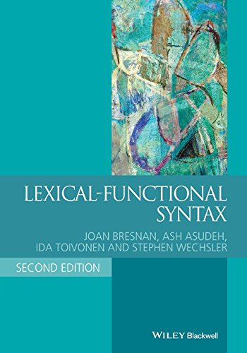 9781405187817: Lexical-Functional Syntax (Blackwell Textbooks in Linguistics)