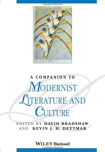 9781405188227: A Companion to Modernist Literature and Culture