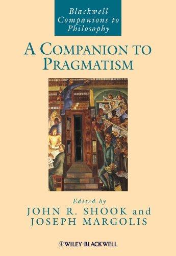 9781405188333: A Companion to Pragmatism
