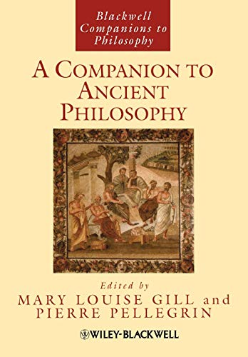 9781405188340: A Companion to Ancient Philosophy
