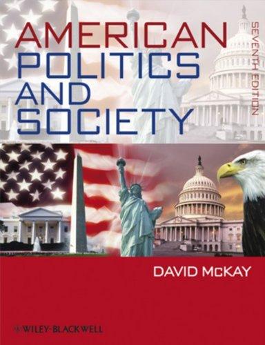 9781405188425: American Politics and Society