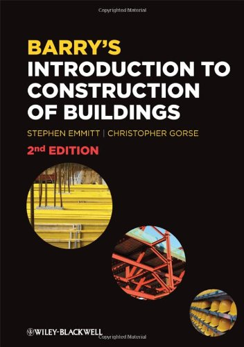 9781405188548: Barry's Introduction to Construction of Buildings