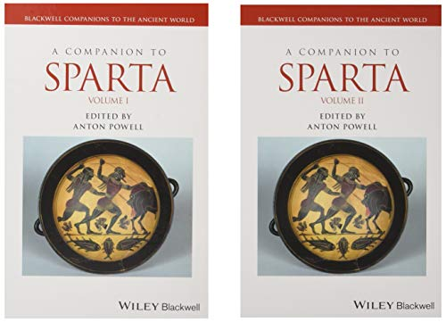 9781405188692: A Companion to Sparta (Blackwell Companions to the Ancient World)