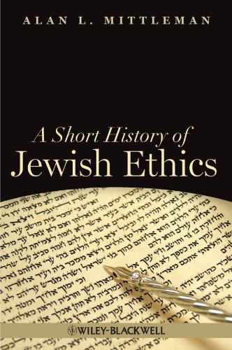 9781405189415: A Short History of Jewish Ethics: Conduct and Character in the Context of Covenant