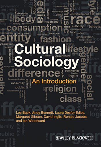 9781405189842: Cultural Sociology: An Introduction