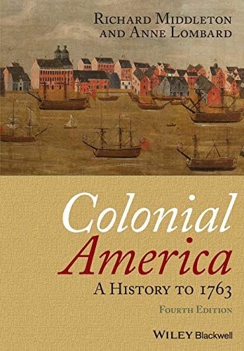 9781405190046: Colonial America: A History to 1763