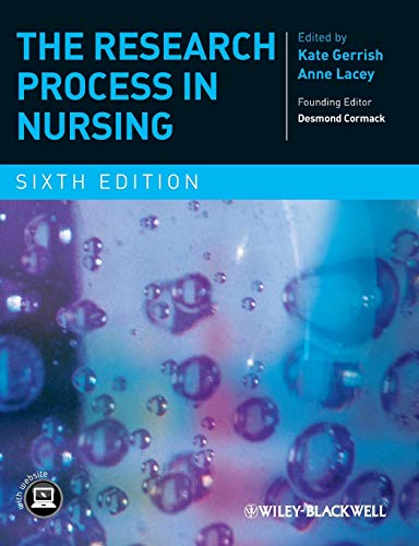 9781405190480: The Research Process in Nursing