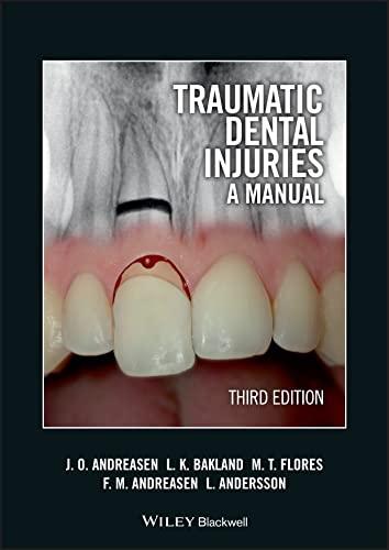 9781405190619: Traumatic Dental Injuries: A Manual