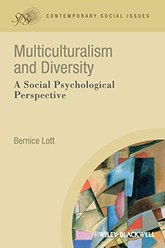 9781405190657: Multiculturalism and Diversity: A Social Psychological Perspective