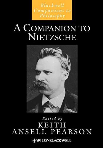 9781405190763: A Companion to Nietzsche