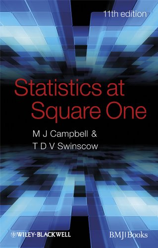 Statistics at Square One: Swinscow, T. D.
