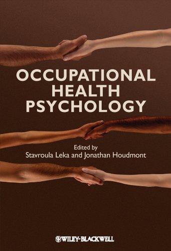 9781405191159: Occupational Health Psychology