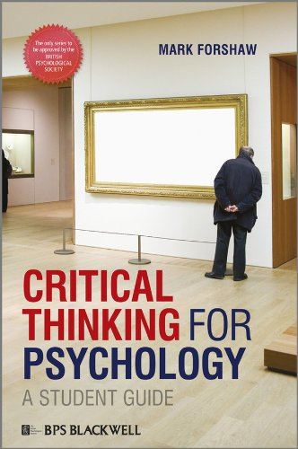9781405191173: Critical Thinking For Psychology: A Student Guide