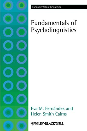 9781405191470: Fundamentals of Psycholinguistics