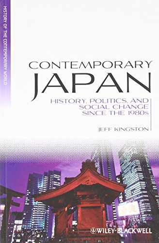9781405191937: Contemporary Japan: History, Politics, and Social Change Since the 1980s (Blackwell History of the Contemporary World)
