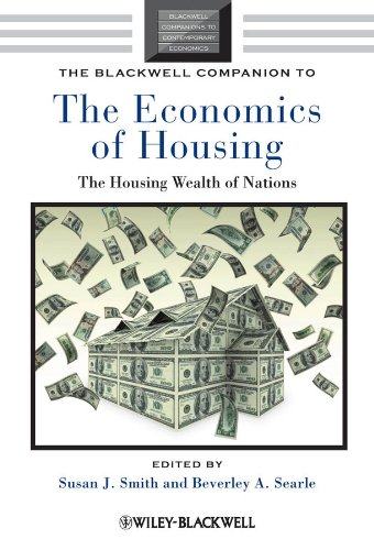 9781405192156: The Blackwell Companion to the Economics of Housing: The Housing Wealth of Nations