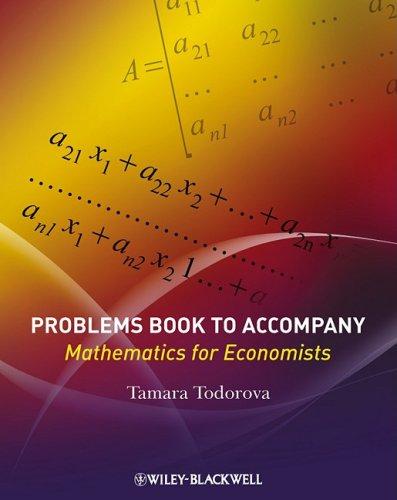 9781405192163: Mathematics for Economists: Problems Book