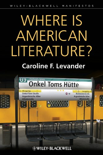 9781405192361: Where is American Literature? (Wiley-Blackwell Manifestos)