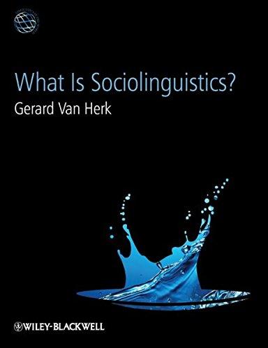 9781405193191: What Is Sociolinguistics?