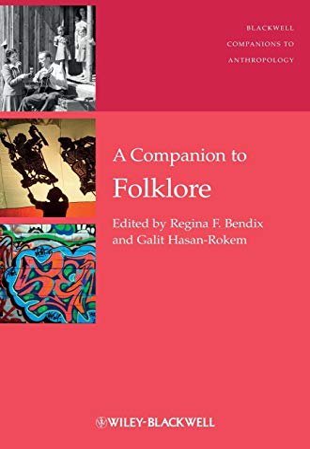 9781405194990: A Companion to Folklore