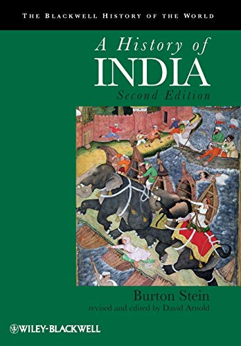 9781405195096: A History of India