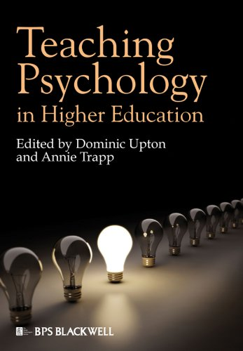 9781405195492: Teaching Psychology in Higher Education