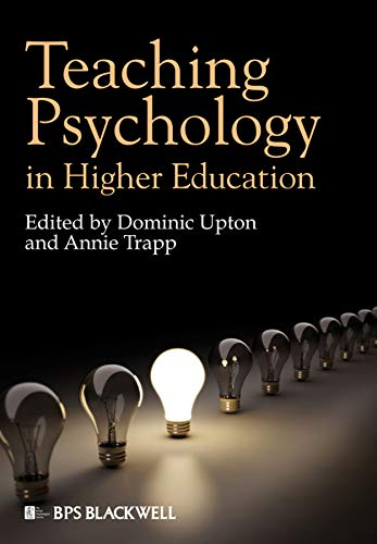 9781405195508: Teaching Psychology in Higher Education