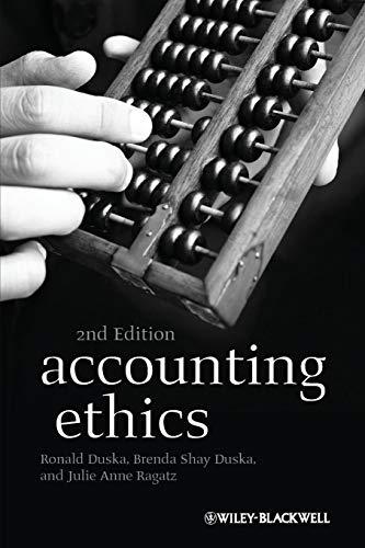 9781405196130: Accounting Ethics
