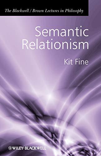 9781405196697: Semantic Relationism