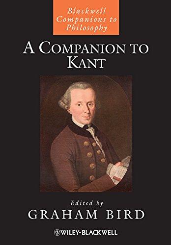 9781405197595: A Companion to Kant