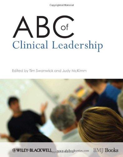 9781405198172: ABC of Clinical Leadership (ABC Series)