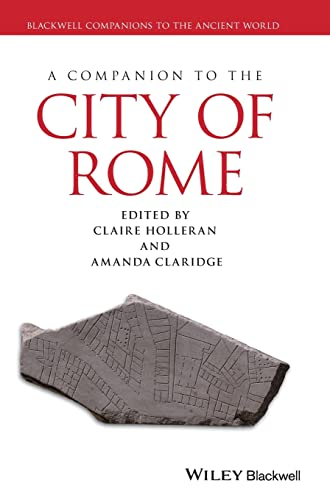 9781405198196: A Companion to the City of Rome (Blackwell Companions to the Ancient World)