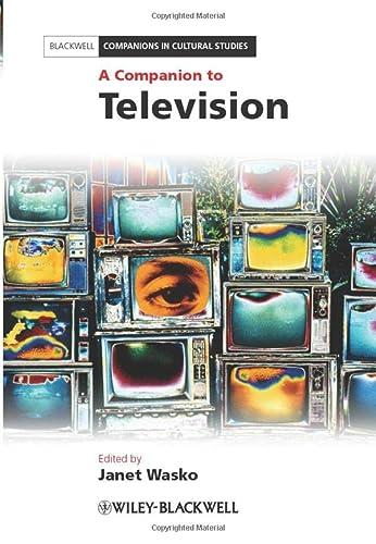 9781405198776: A Companion to Television