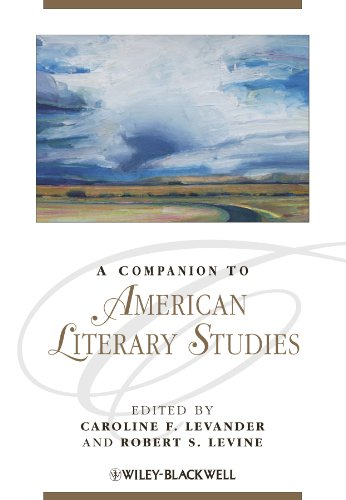 9781405198813: A Companion to American Literary Studies